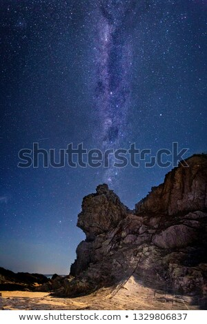 Queen Victoria Rock under a sky full of stars Stock photo © lovleah
