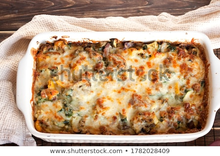 gebakken · aardappel · maaltijd · kruid - stockfoto © tycoon