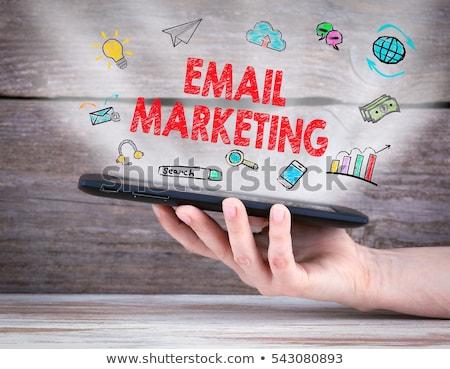 Negocios comunicación comercialización enviar Foto stock © cifotart