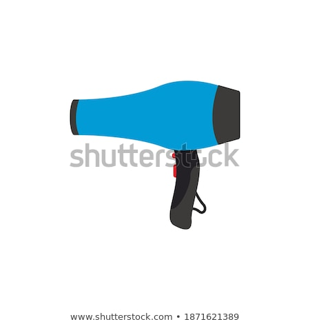 Hairdryer graphic design template vector isolated Stockfoto © haris99