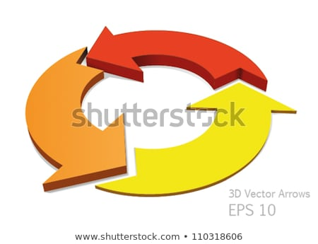 Circular preloaders, step, progress indicator. Vector illustration isolated on white background Stock photo © kyryloff