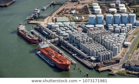 chemical industry port of rotterdam stock photo © emiddelkoop