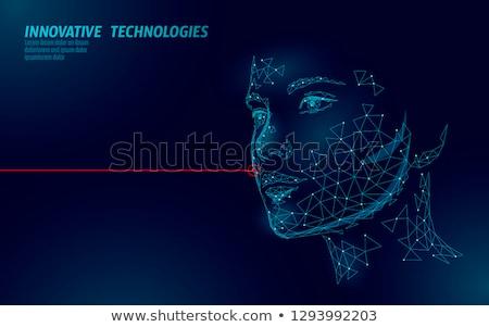 косметических вектора женщину инструментом инструмент рабочих Сток-фото © robuart