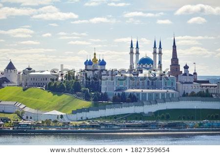Kremlin kule Rusya saat beyaz tarih Stok fotoğraf © borisb17