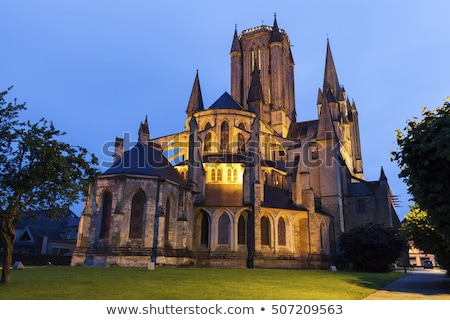 Coutances Cathedral, France Stock photo © borisb17
