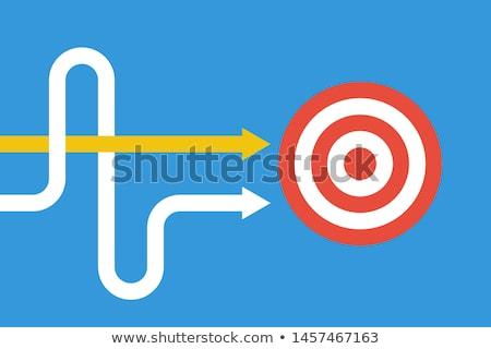 Cible annonce précise recrutement stratégie groupe de discussion Photo stock © RAStudio