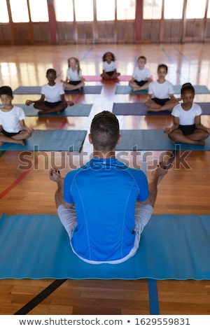 мнение йога учитель преподавания школы Сток-фото © wavebreak_media