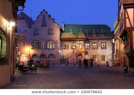 öreg · vám · ház · Franciaország · történelmi · francia - stock fotó © borisb17