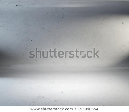 Boş beyaz siyah bo 3d illustration ışık Stok fotoğraf © make