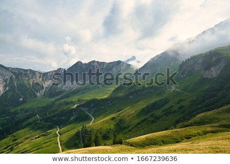 Scenic View Of Rocky Mountains Stock photo © AndreyPopov