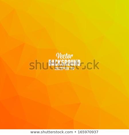 Oranje veel sterren illustratie frame kunst Stockfoto © bluering