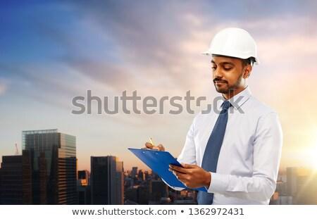 архитектора шлема буфер обмена Токио архитектура строительство Сток-фото © dolgachov
