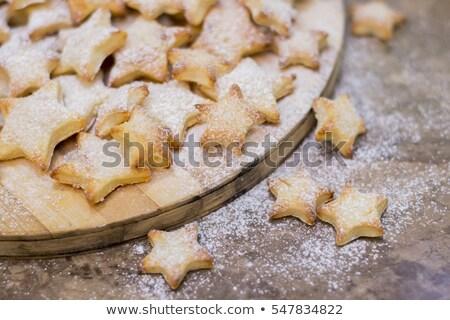 Powdered sugar cookies  Stock photo © grafvision