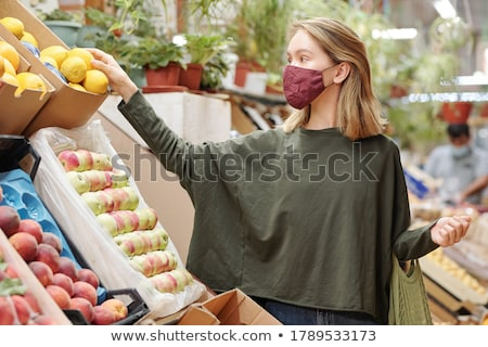 Young attractive woman Stock photo © danienel