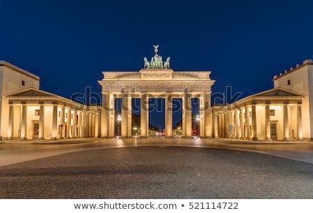 The Brandenburg Gate, Berlins most famous landmark Stock photo © elxeneize