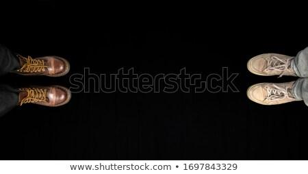 Społecznej rozwód rozdzielenie strony rysunek celu Zdjęcia stock © ivelin