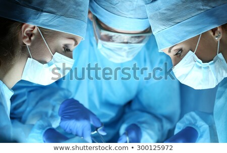 Equipo médicos médicos personal cirujano bisturí Foto stock © robuart