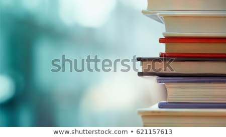 книгах · набор · различный · старые · белый - Сток-фото © adrian_n