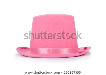 Pink top hat Stock photo © homydesign
