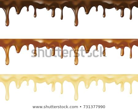Chocolate drip Stock photo © donatas1205