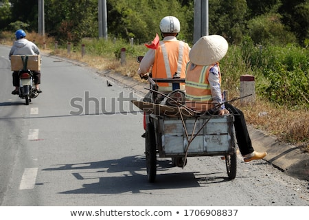 Couple behind their motorcycle Stock photo © photography33