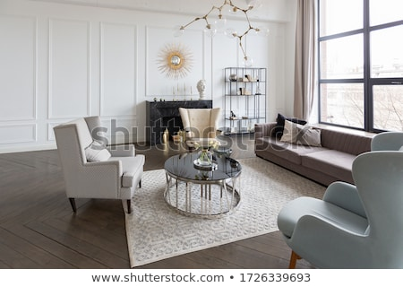 Stock photo: Royal  furniture in a luxurious interior