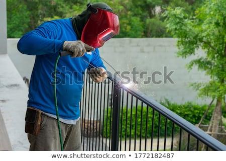 welded fence stock photo © forgiss