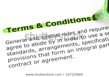 Groene woordenboek definitie fiche papier dienst Stockfoto © ivelin