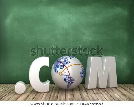 pont · világtérkép · üzlet · kék · színek · fények - stock fotó © pinkblue
