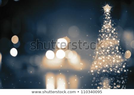 champagne · christmas · geïsoleerd · witte - stockfoto © karandaev