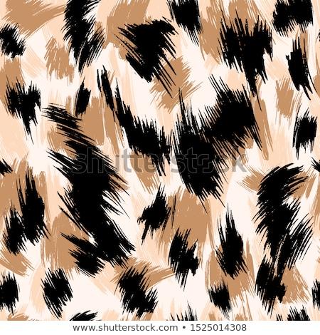 Végtelenített állat bőr minta absztrakt szövet Stock fotó © creative_stock