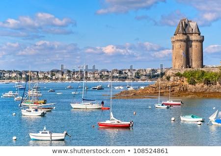 Solidor Tower, Saint Malo Stock photo © neirfy