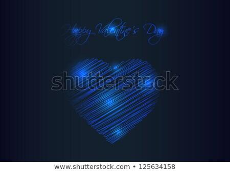 Dia dos namorados especial plasma projeto luz fundo Foto stock © place4design