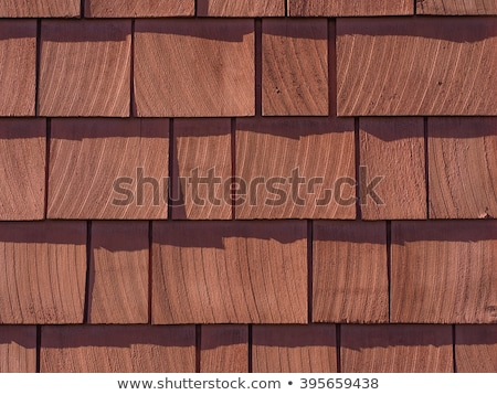 Stockfoto: Red Stained Wall