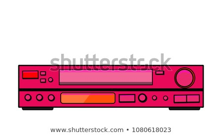 CD / DVD / DVR Player Stock photo © cteconsulting