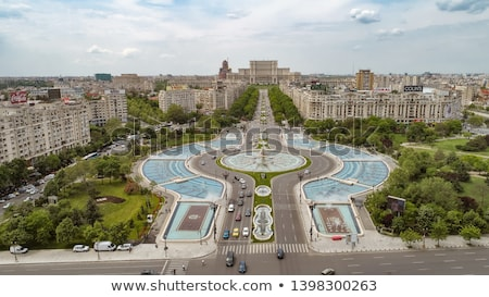 peoples house in bucharest stock photo © maxmitzu