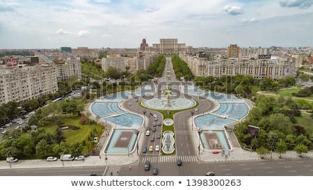 народов дома Бухарест парламент административный Сток-фото © maxmitzu