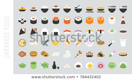 Curry soba noodles Stock photo © varts