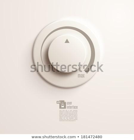 Volume switch. Vector Illustration EPS10. Stock photo © deomis