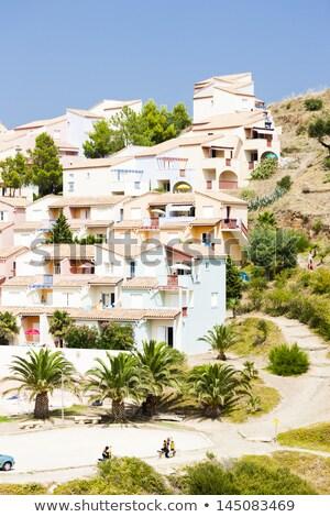 Le Village des Aloes, Languedoc-Roussillon, France Stock photo © phbcz