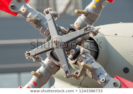 helicopter rotor assembly Stock photo © nelsonart