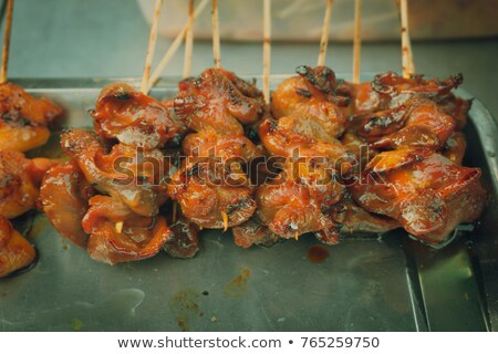 Smoked chicken gizzards  Stock photo © Makse