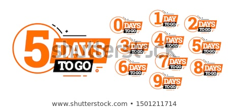 countdown three stock photo © idesign