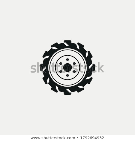 Wheel from tractor Stock photo © jarin13