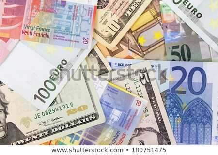 Euro, Dollar and Swiss Franc on a white background Stock photo © Zerbor