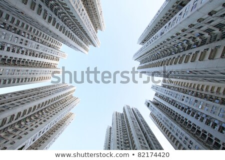 Hong Kong suburb Stock photo © joyr