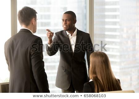коллеги аргумент служба бизнеса женщины команда Сток-фото © wavebreak_media
