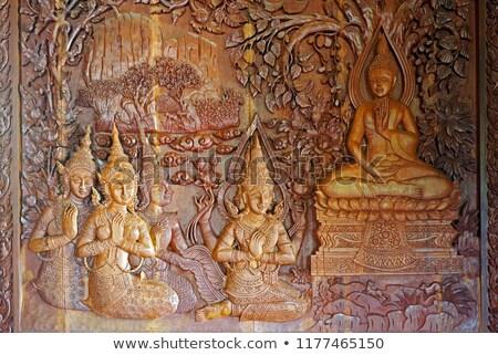 traditional thai style architecture stock photo © nobilior