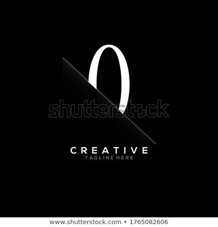 0 Number Violet Vector Icon Design Stock photo © rizwanali3d