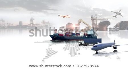 бизнеса распределение глобальный экономический деятельность группа Сток-фото © Lightsource